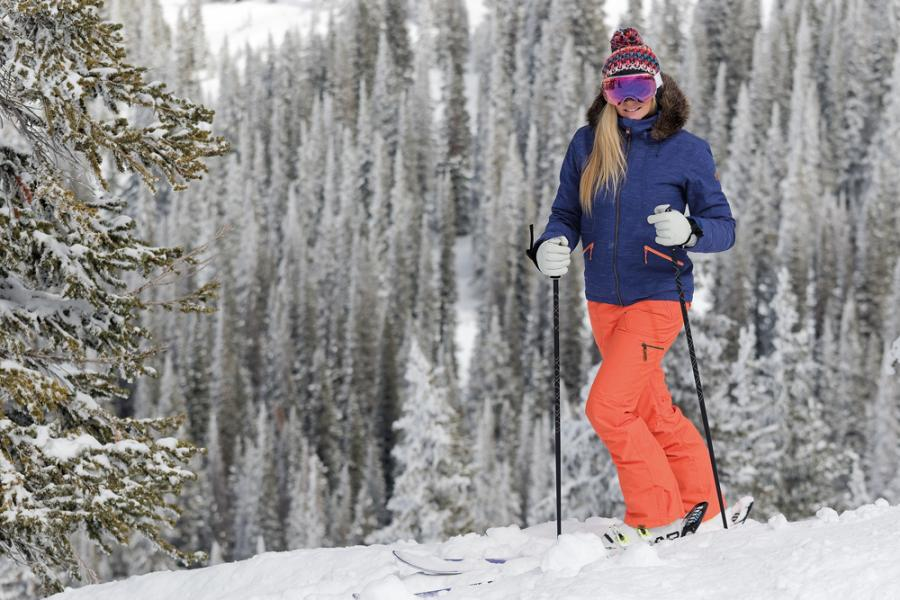 Ski outfit from Ellis Brigham at One New Change