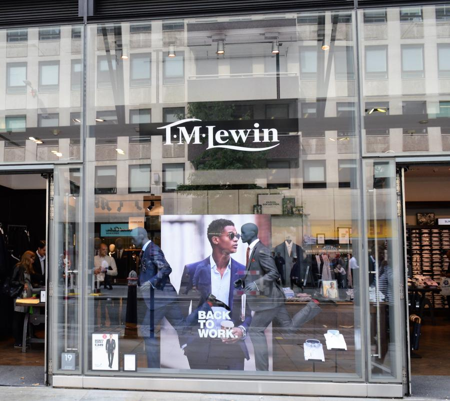 T.M. Lewin at One New Change